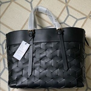 Welden Black Tote bag